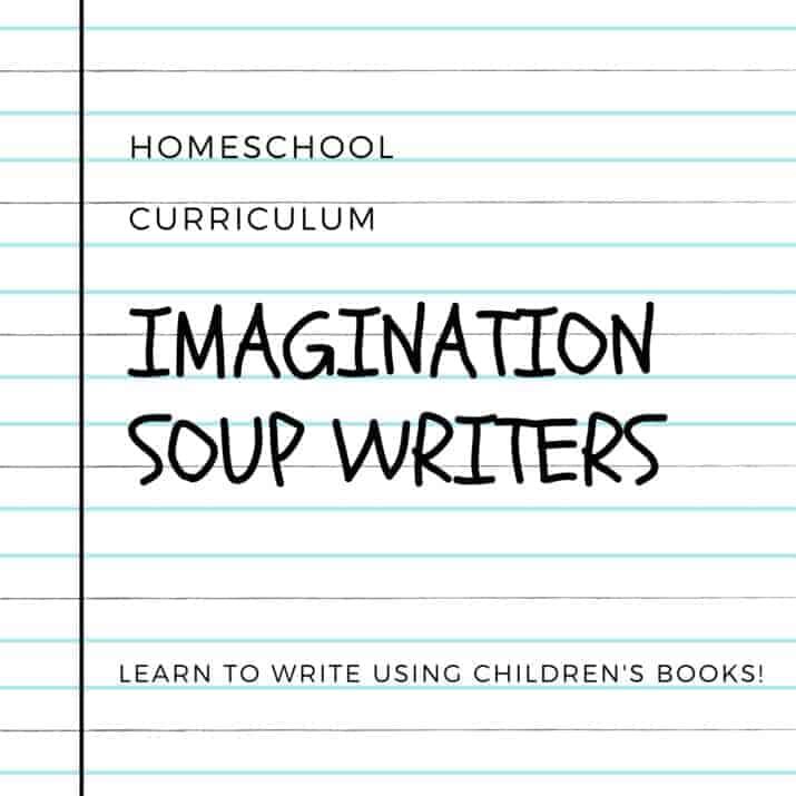 Imagination Soup homeschool writing curriculum