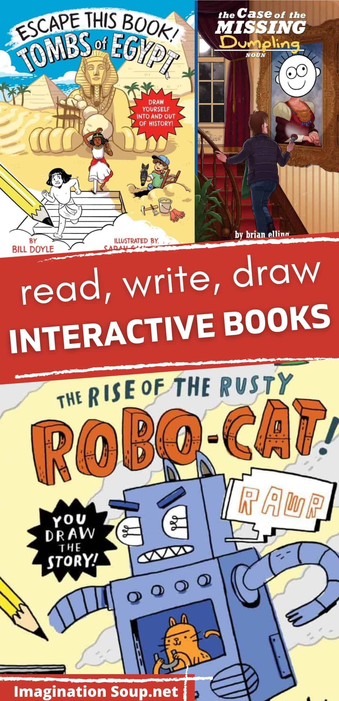 Interactive Books for Ages 6 to 9