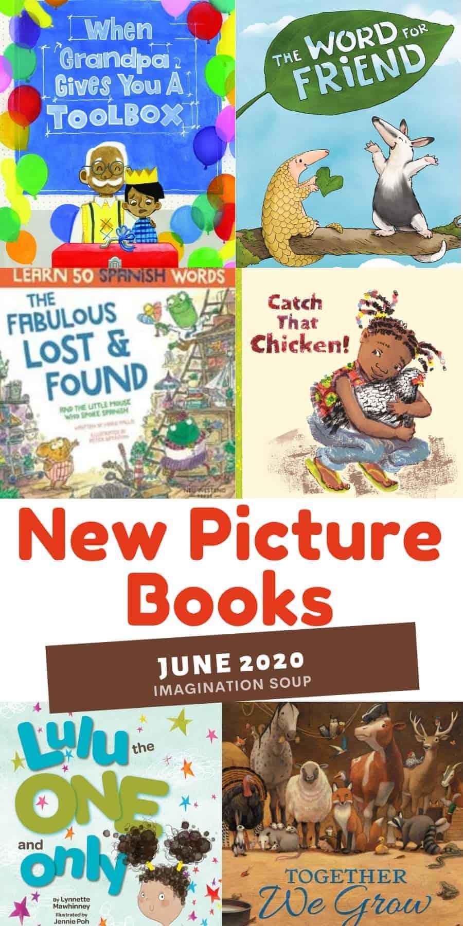 New picture books June 2020