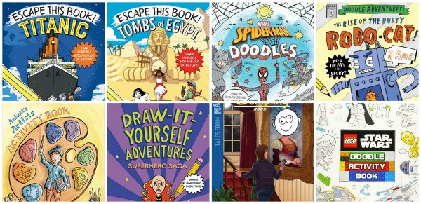interactive reading and writing books for reluctant readers