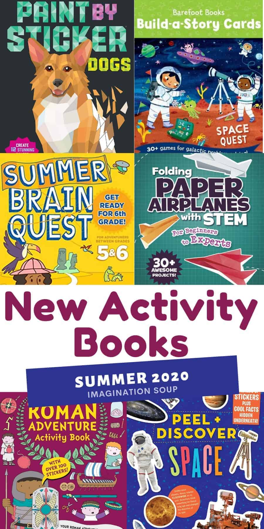 new activity books summer 2020