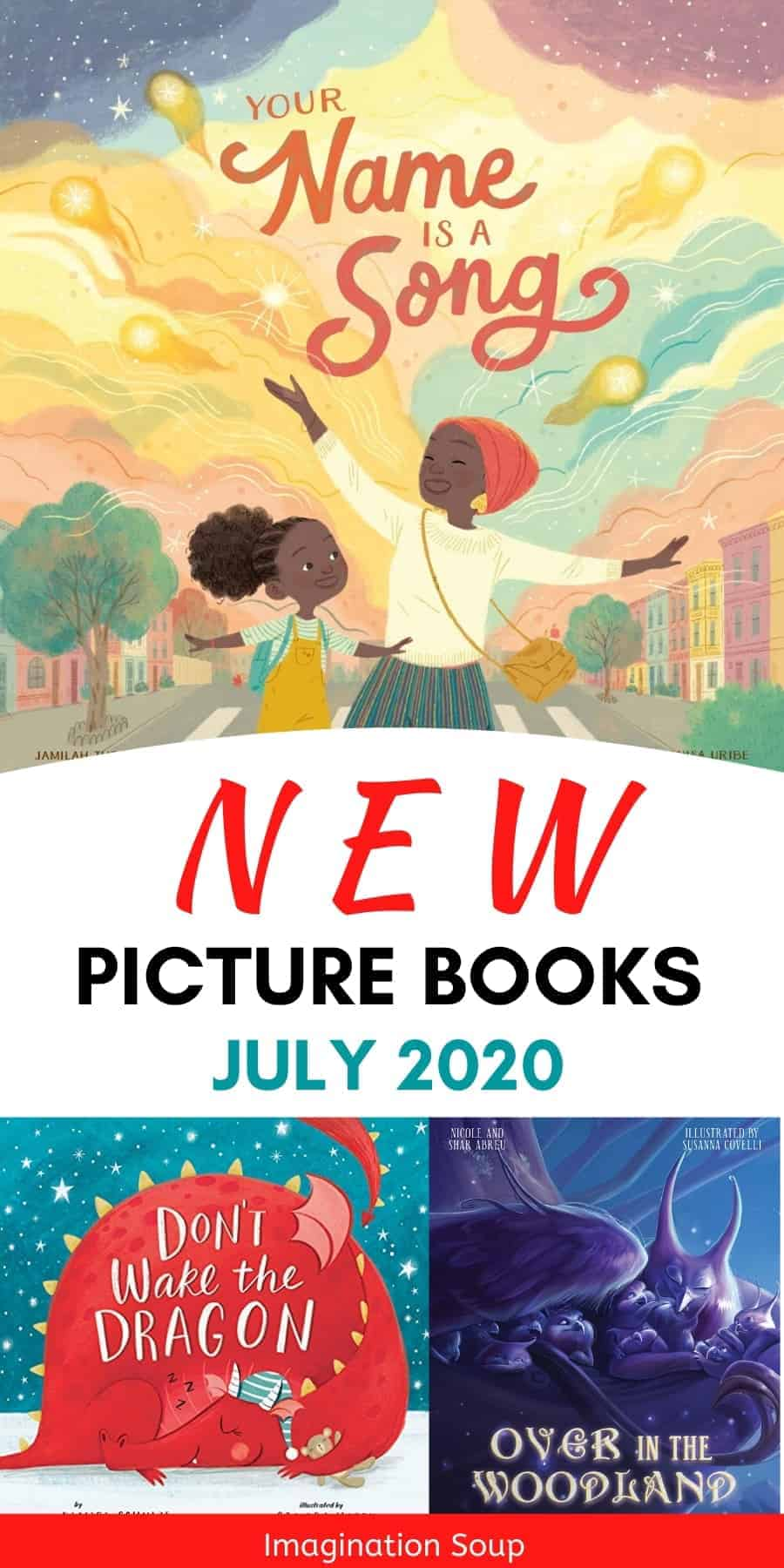 new picture books July 2020