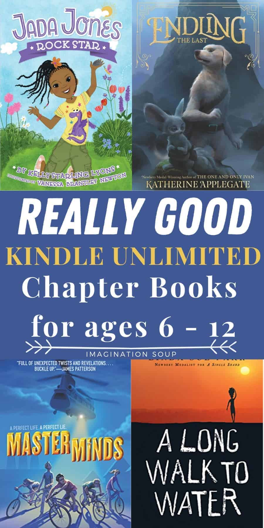 really good kindle unlimited chapter books for kids