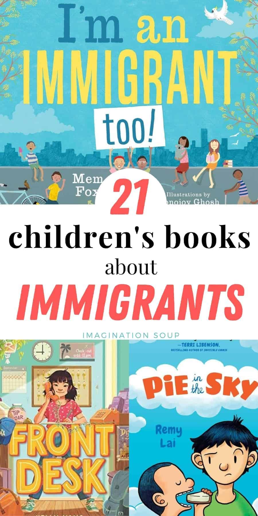21 children's books about immigrants