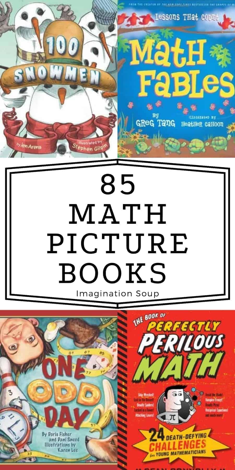big list of math picture books
