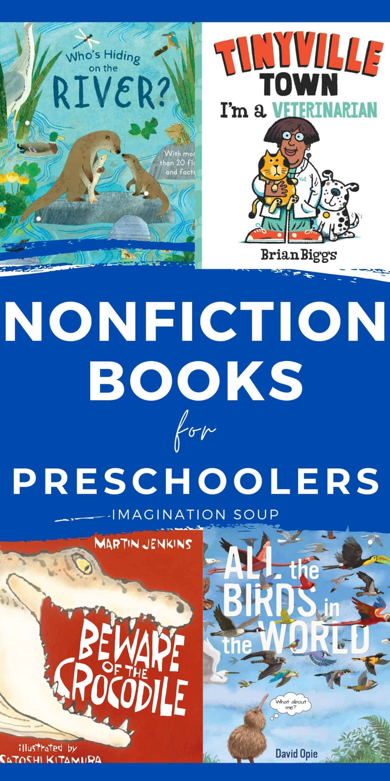good nonfiction books for preschoolers