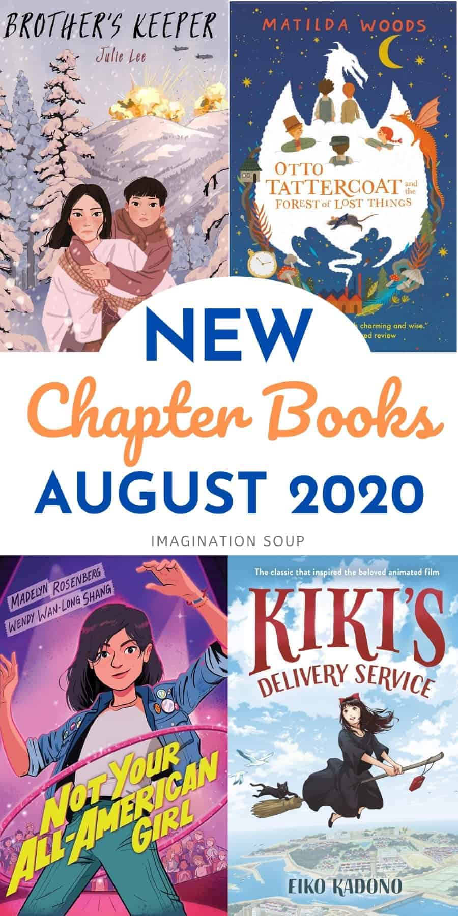 New chapter books August 2020