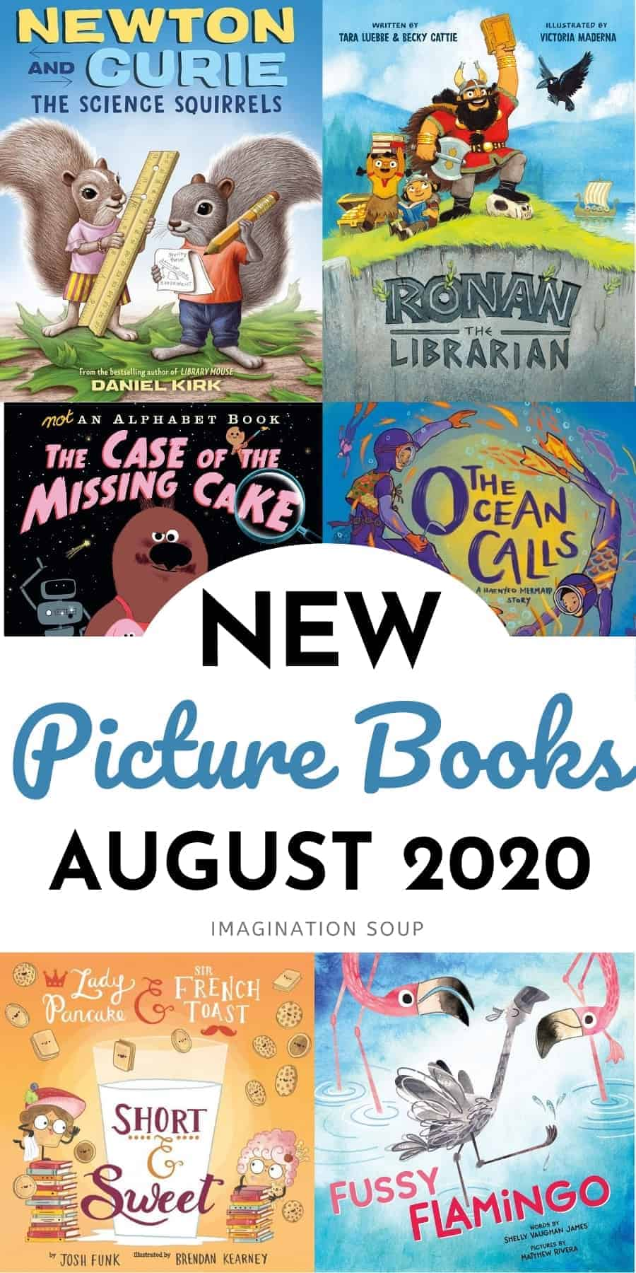 New picture books August 2020