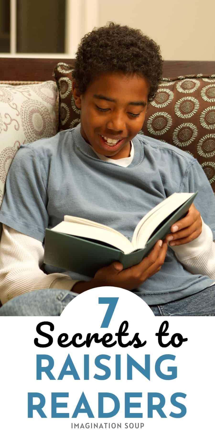 Seven Secrets to Raising Eager Readers