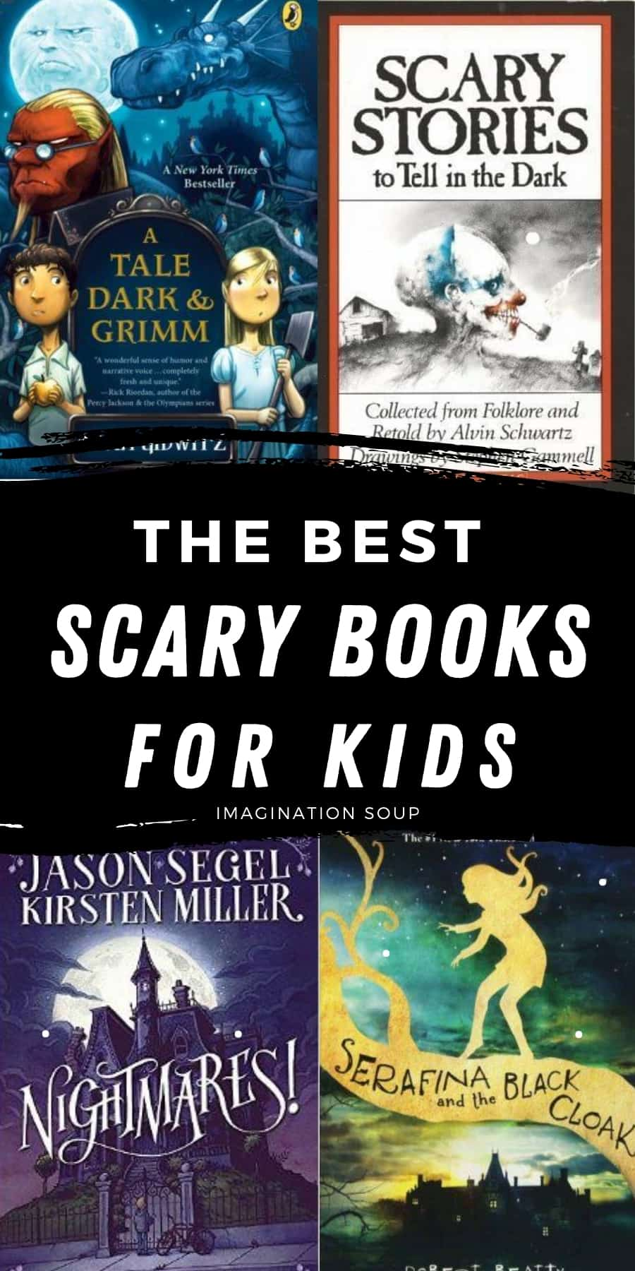 The best spooky, scary chapter books for kids (that they won't be able to put down!)