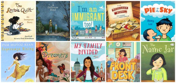 children's books about immigration
