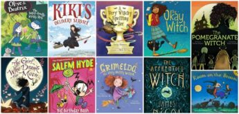 children's picture books and chapter books about witches
