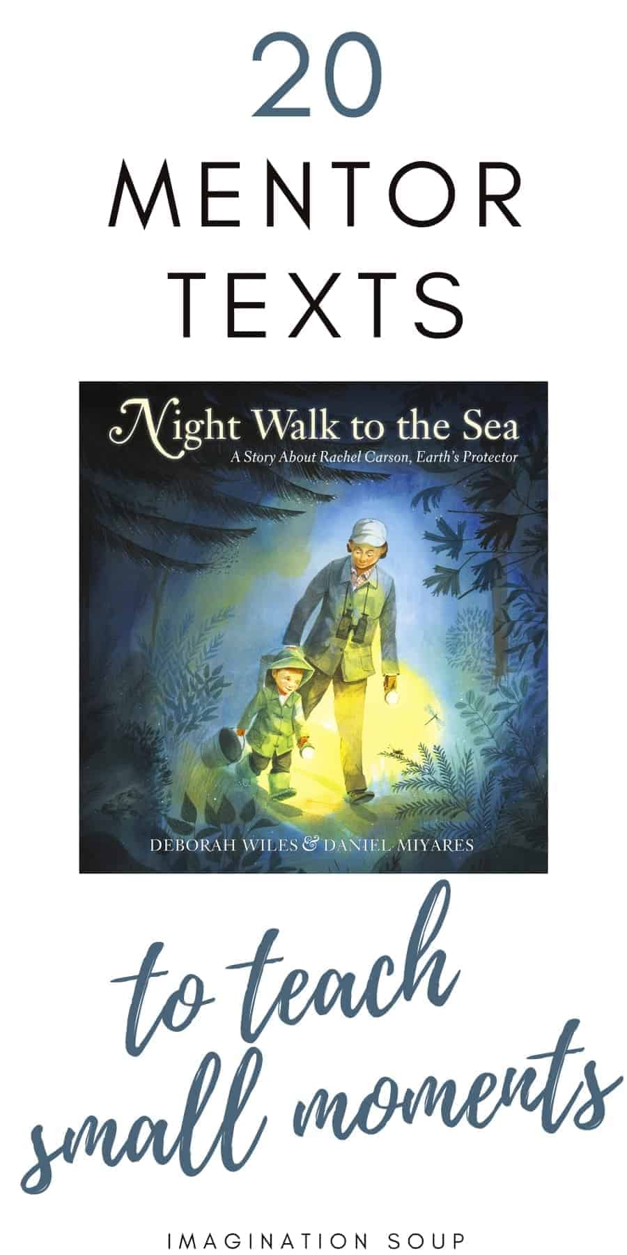 20 mentor texts to teach small moments
