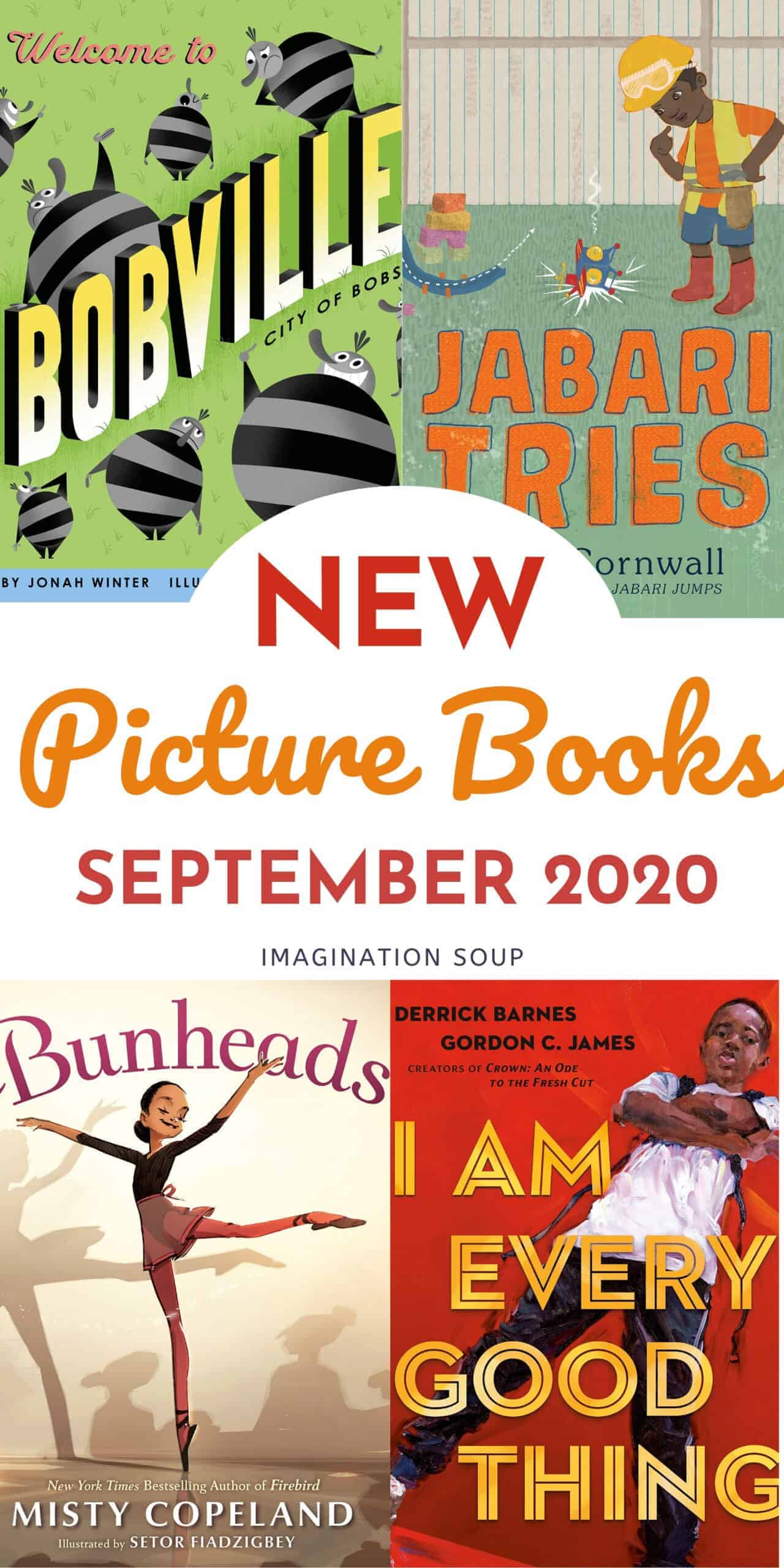 NEW picture books September 2020
