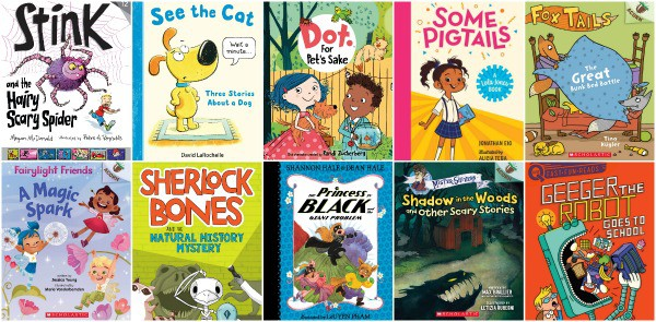 New Books for Growing Readers Ages 5 to 8 fall 2020