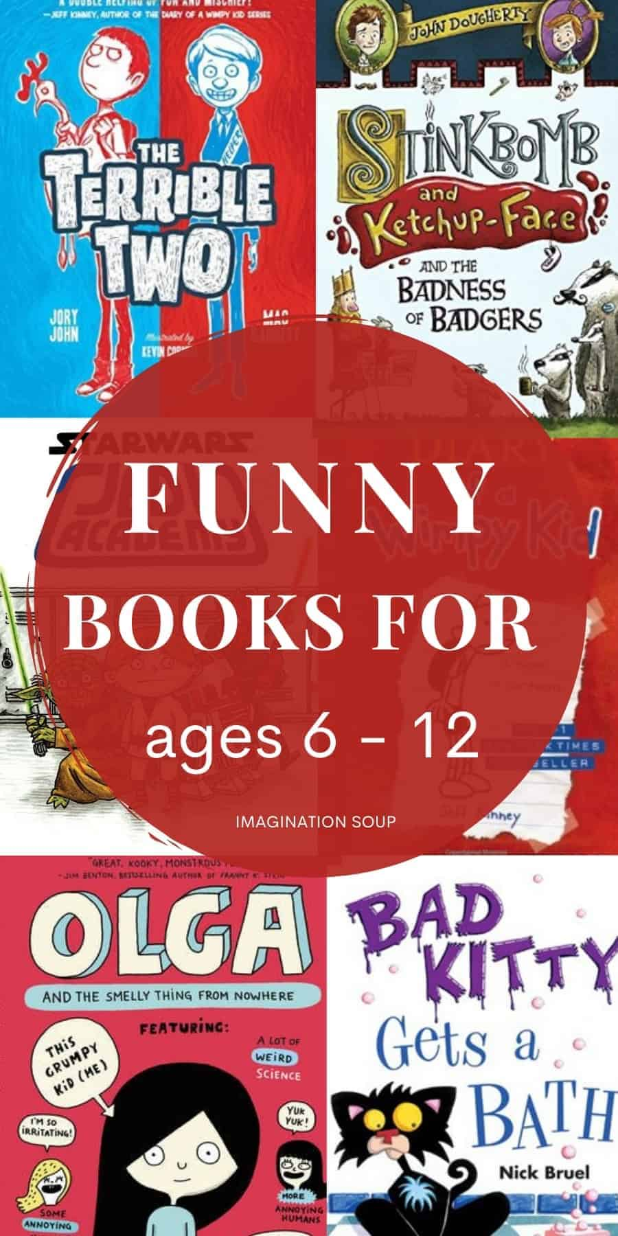 the best funny chapter books for kids