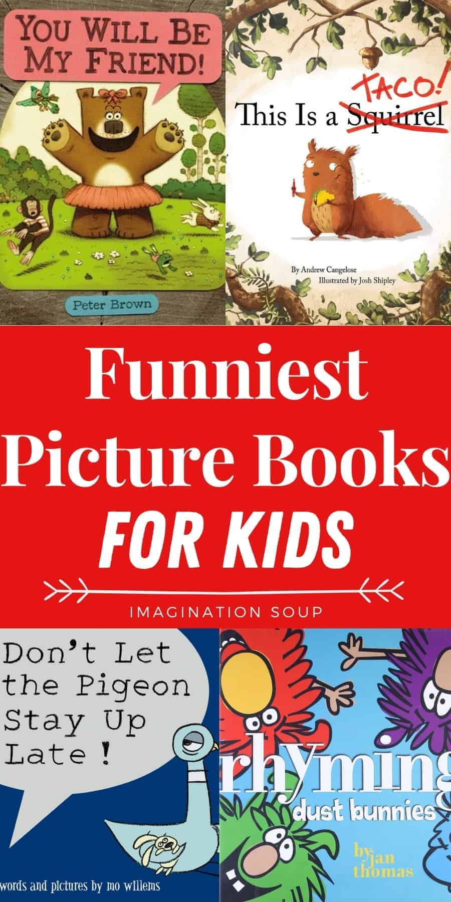 the best funny picture books for kids