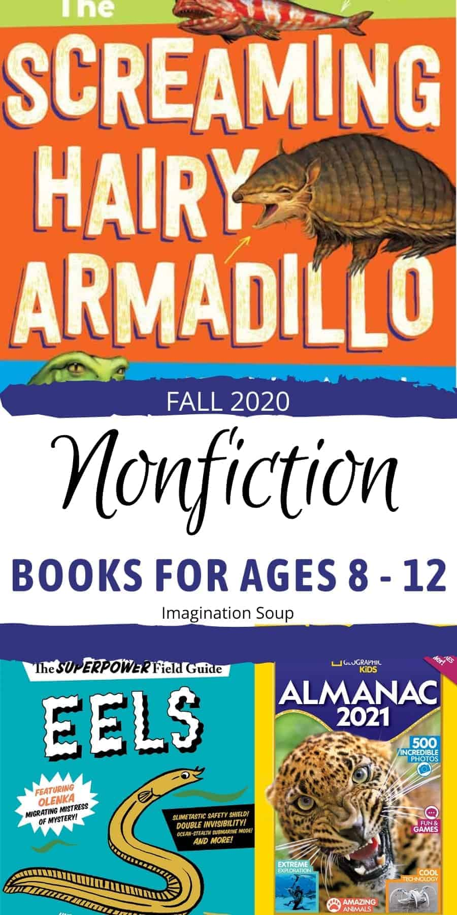 new nonfiction middle grade books fall 2020