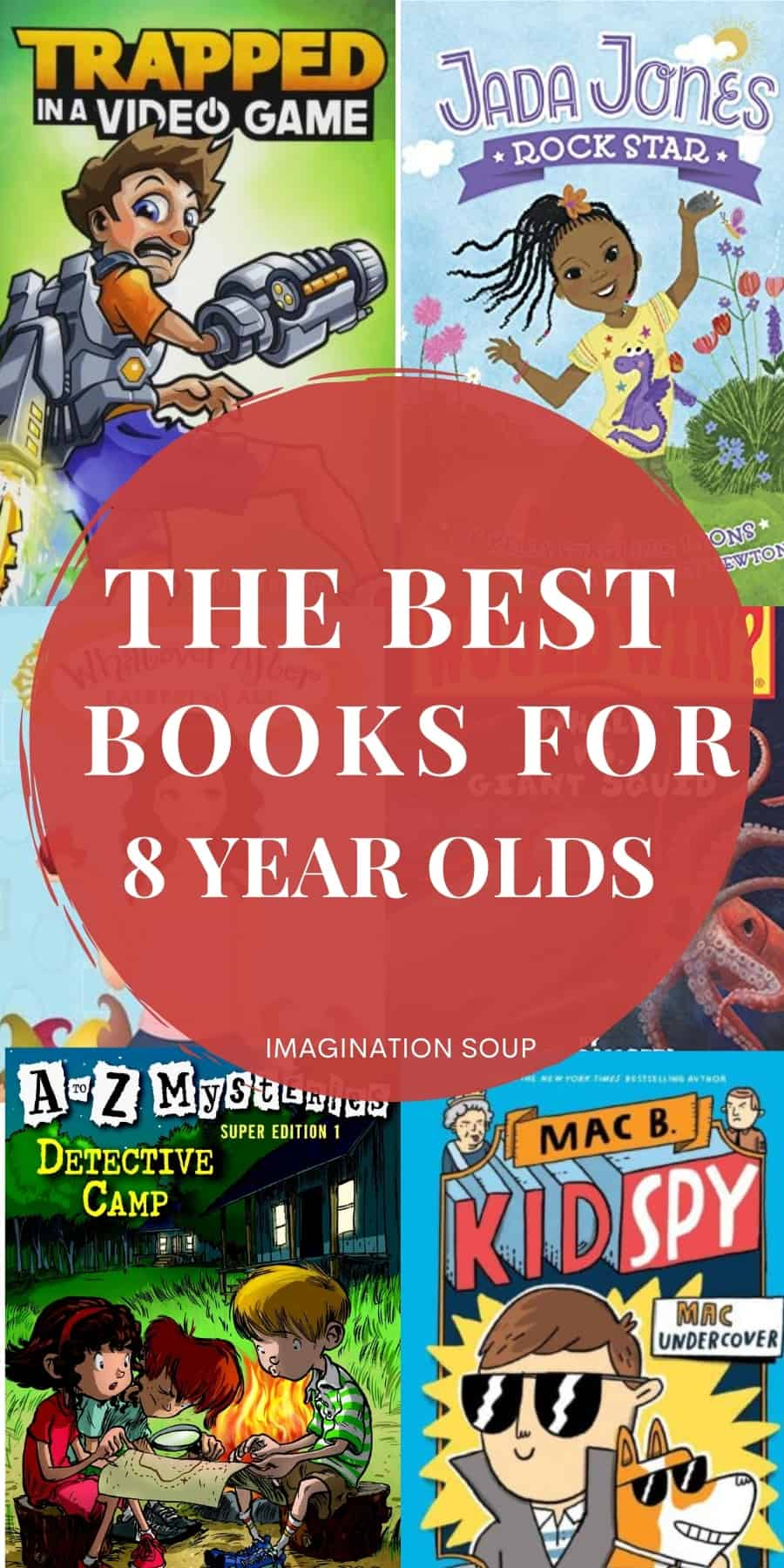 best books for 8 year olds (3rd grade)