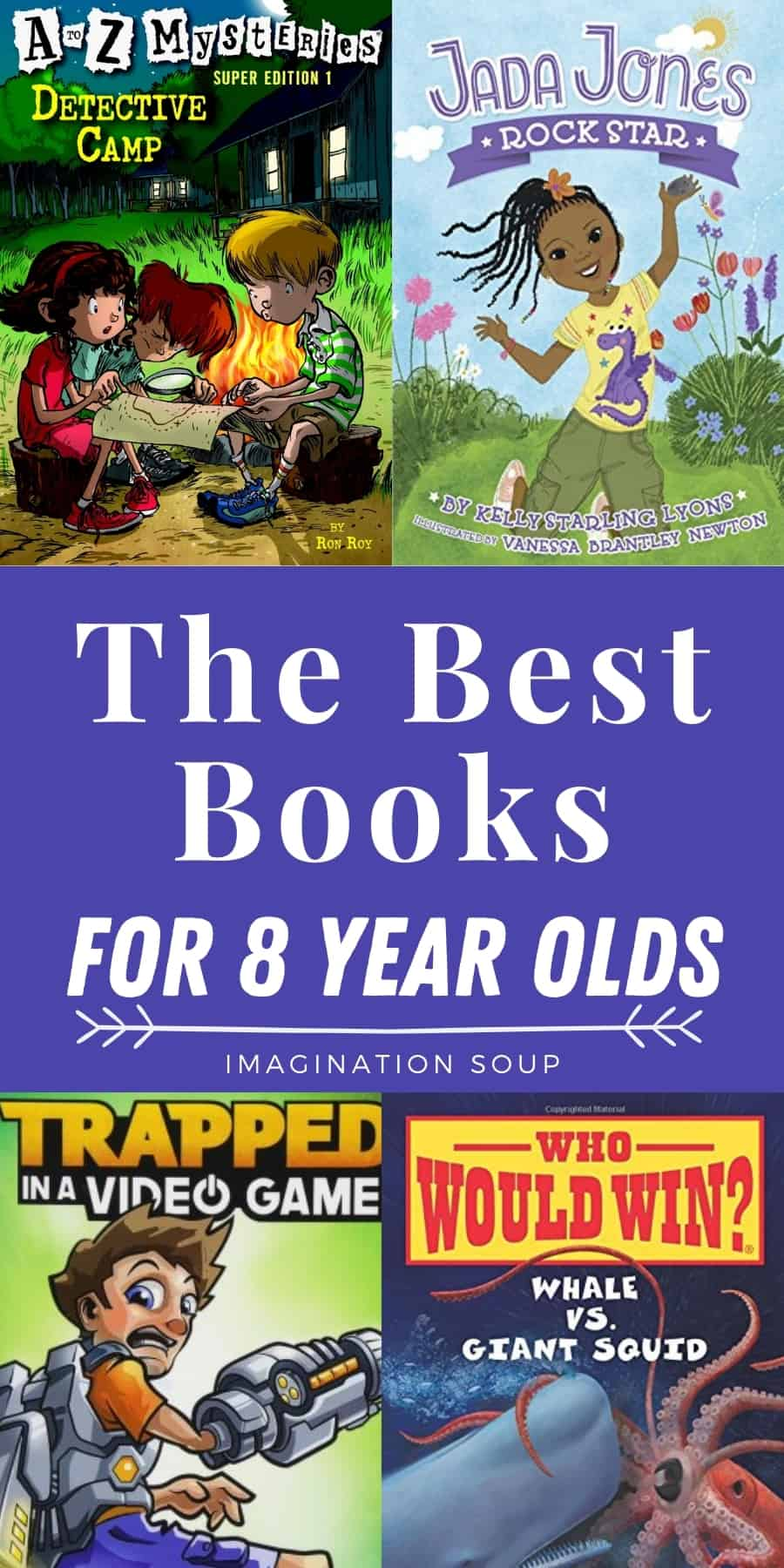good books for 8 year old kids in 3rd grade