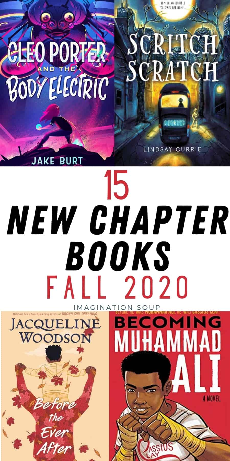 15 new chapter books October 2020