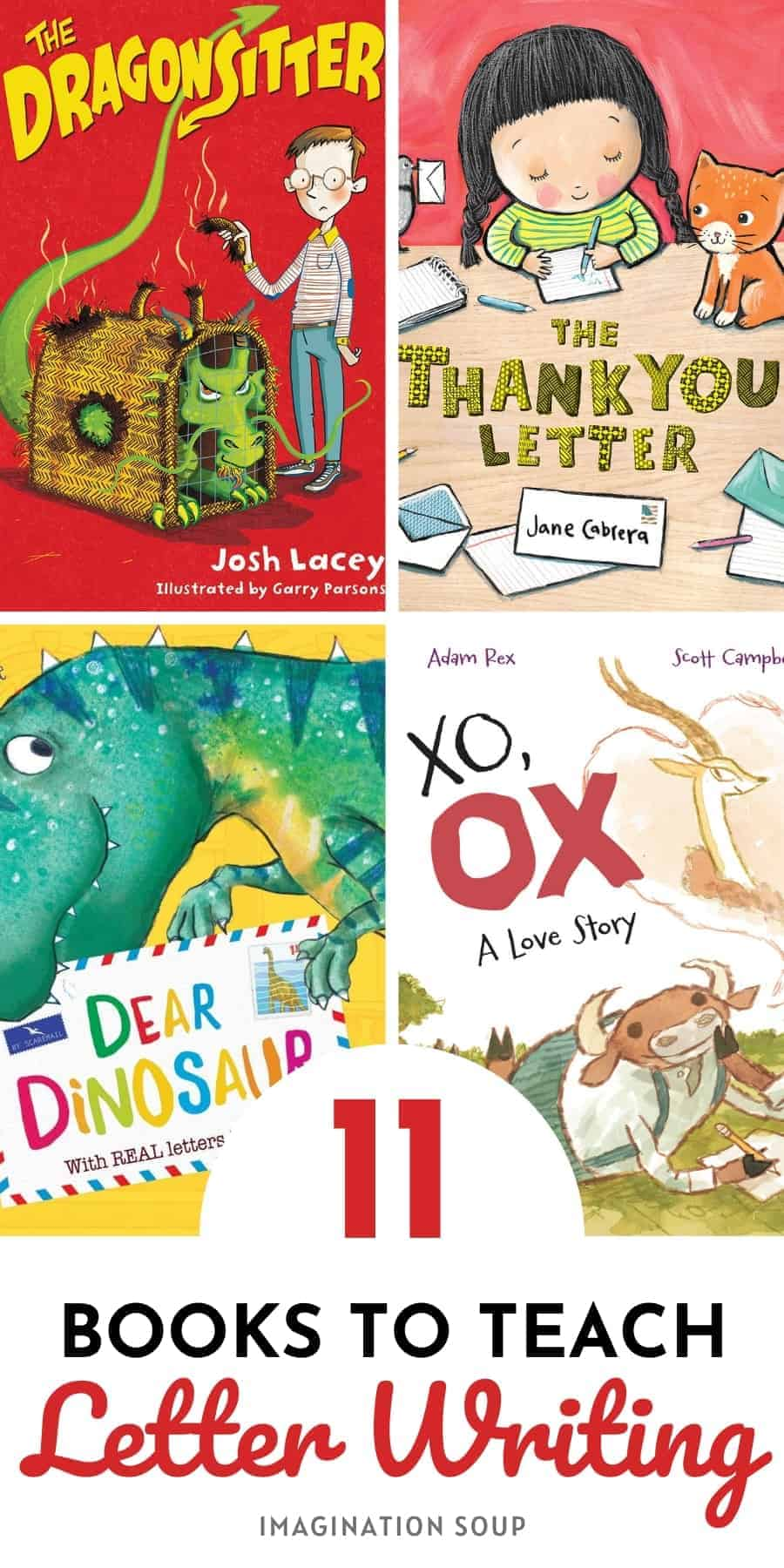 Children's Books to Teach Letter Writing