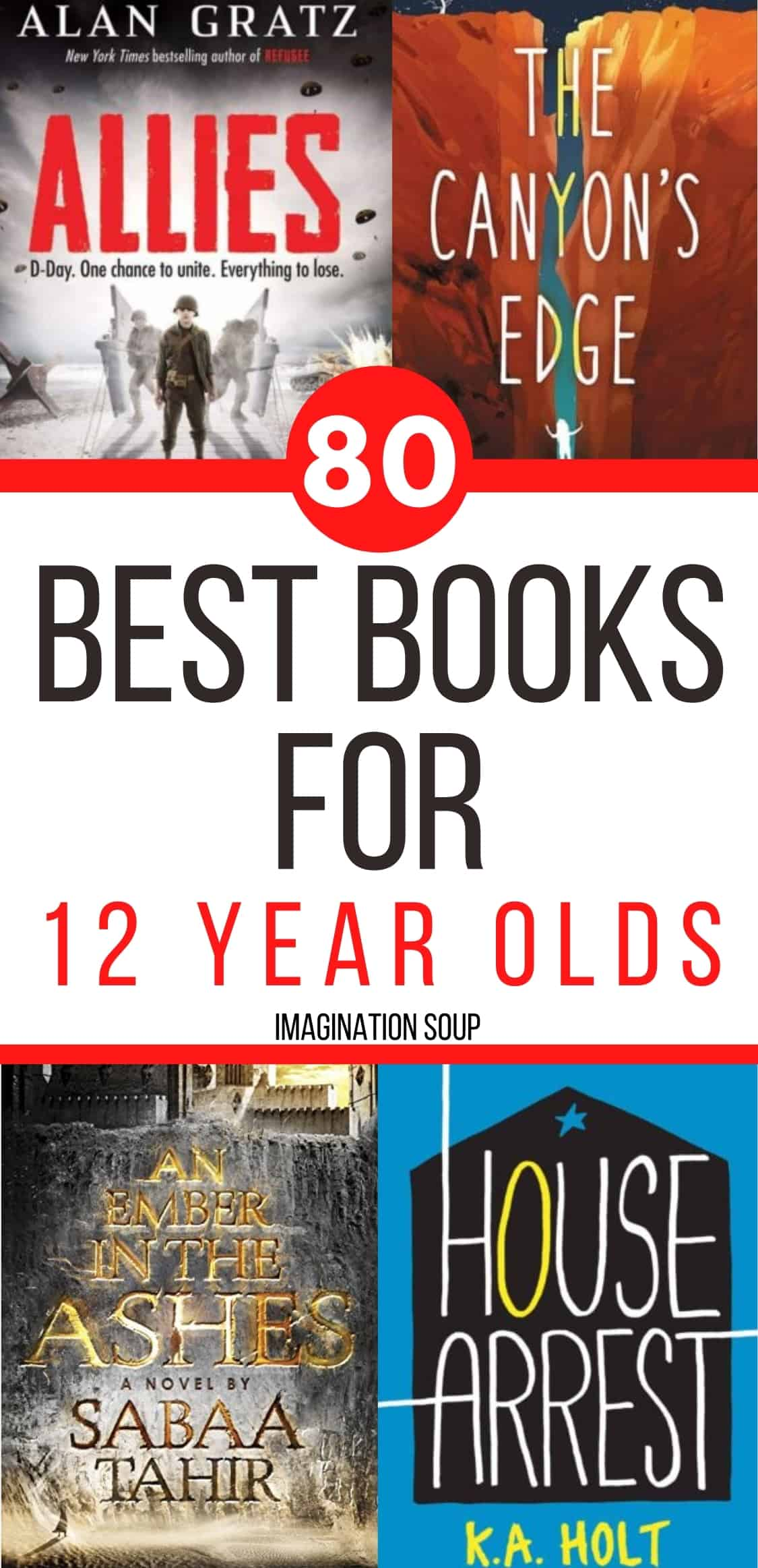 discover the best books for 12 year olds (7th grade)
