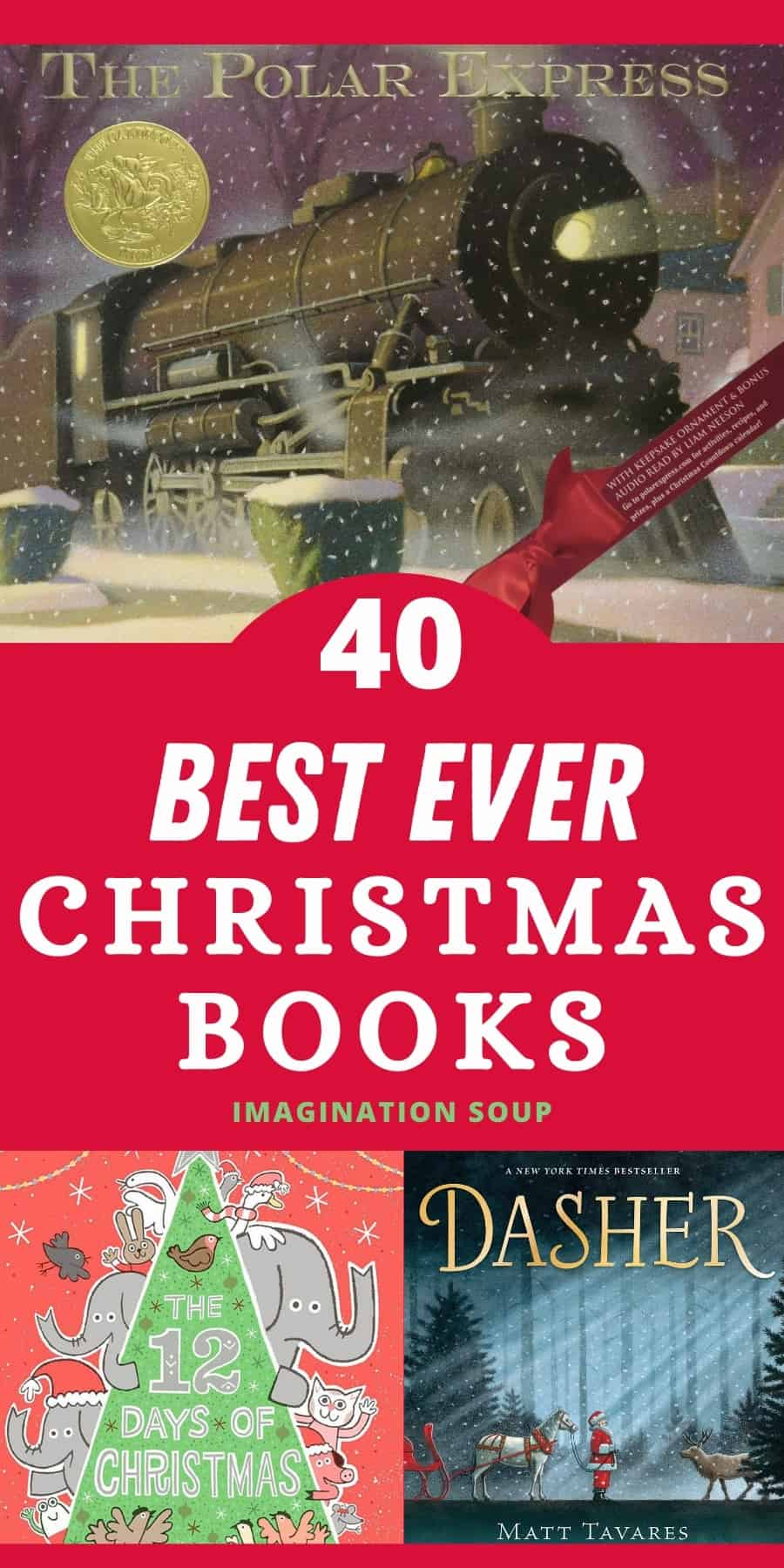 best ever Christmas books for all ages (picture and chapter books)