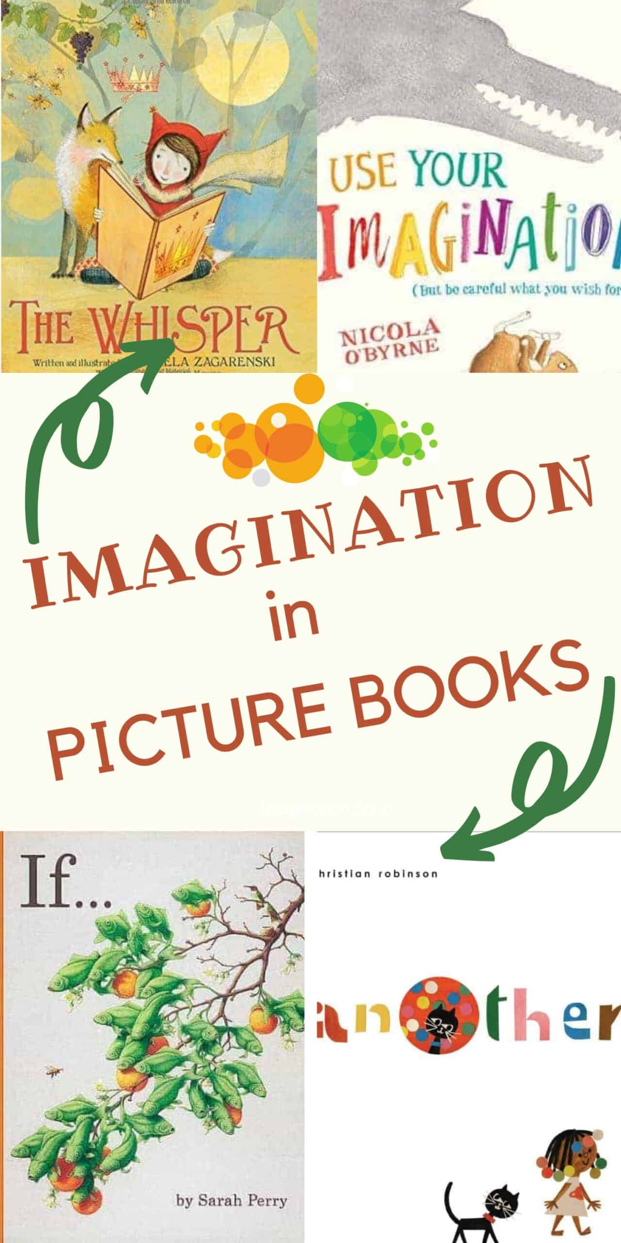 good picture books about imagination