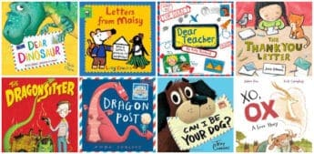 mentor text children's books to teach kids how to write a letter