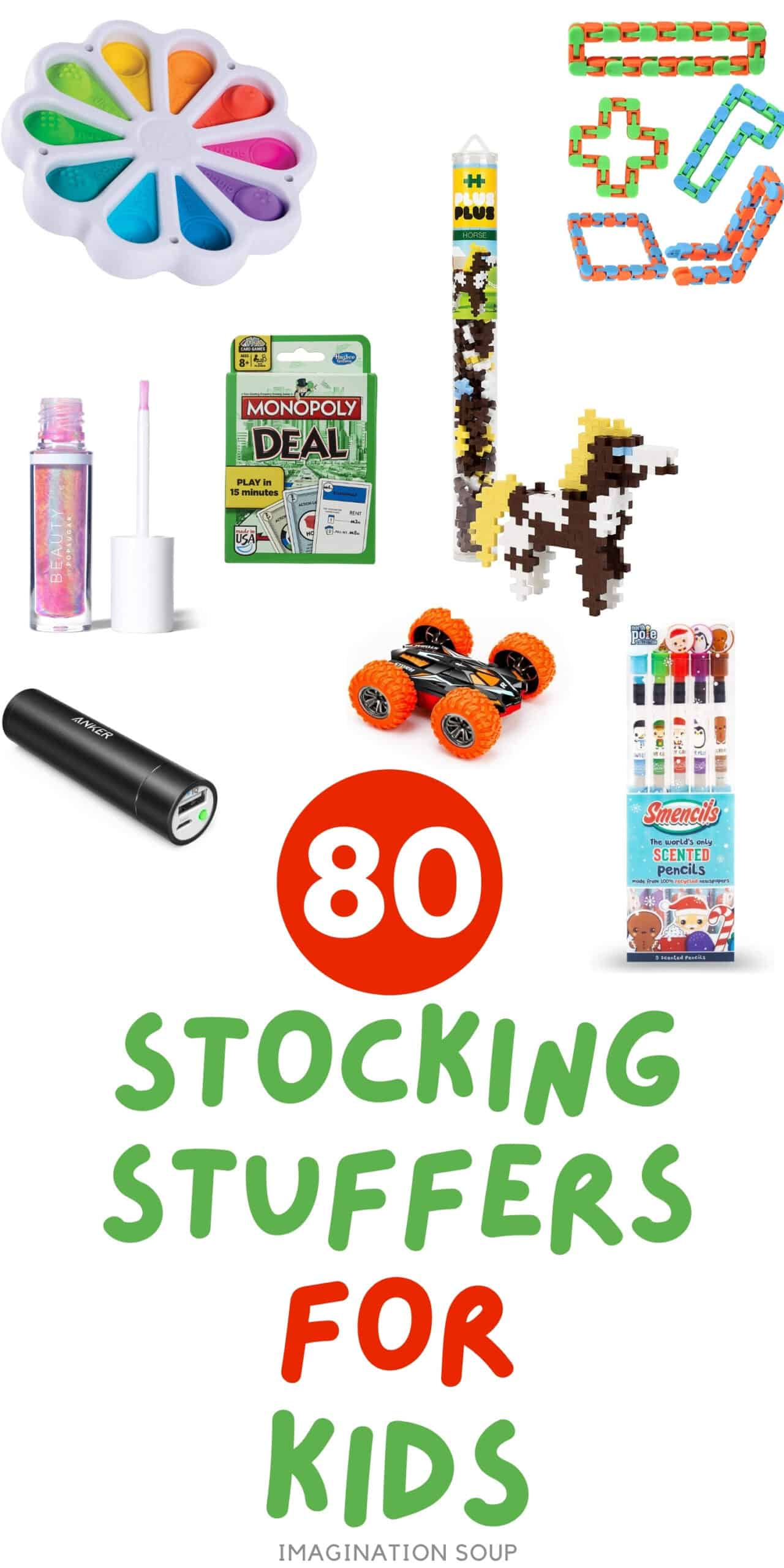 80+ stocking stuffer ideas for kids and teens