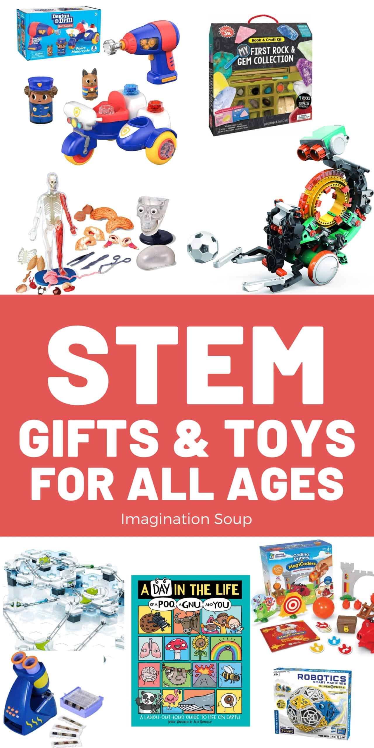 STEM Gifts & Toys for Kids of All Ages