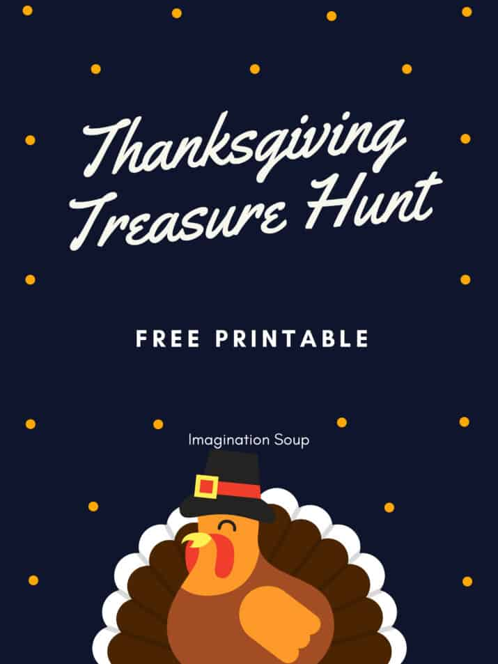 Free Printable Thanksgiving Treasure Hunt