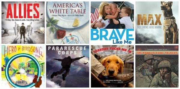 children's books for Veteran's Day and Memorial Day