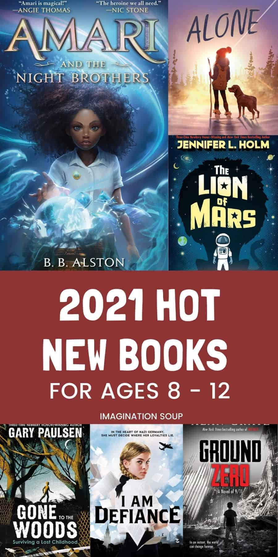 new middle grade books for kids, January 2021