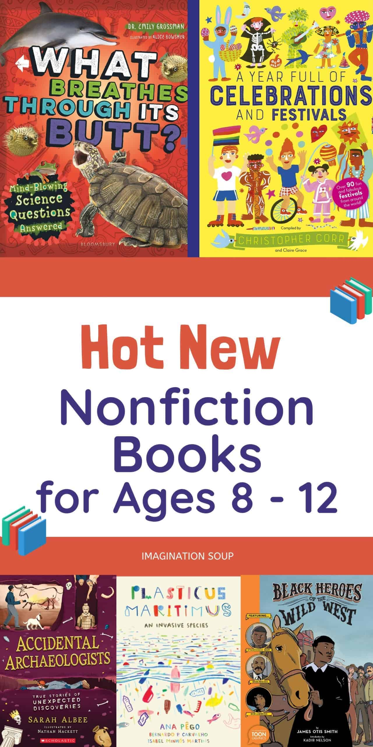 nonfiction books for kids ages 8 - 12