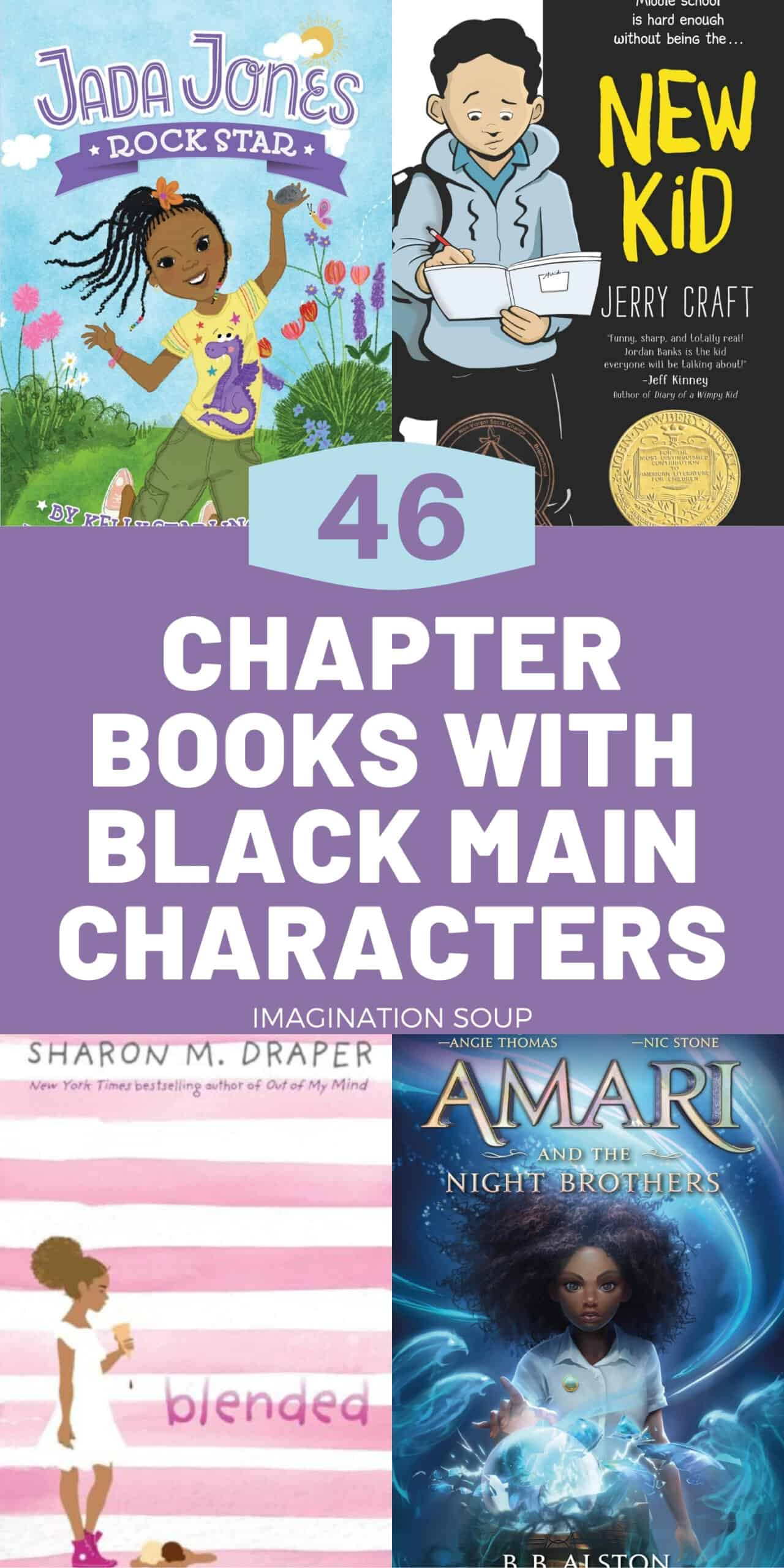 Children's Chapter Books Featuring Black Main Characters