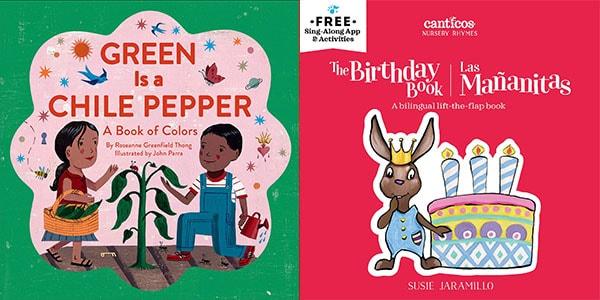 bilingual children's books in English and Spanish