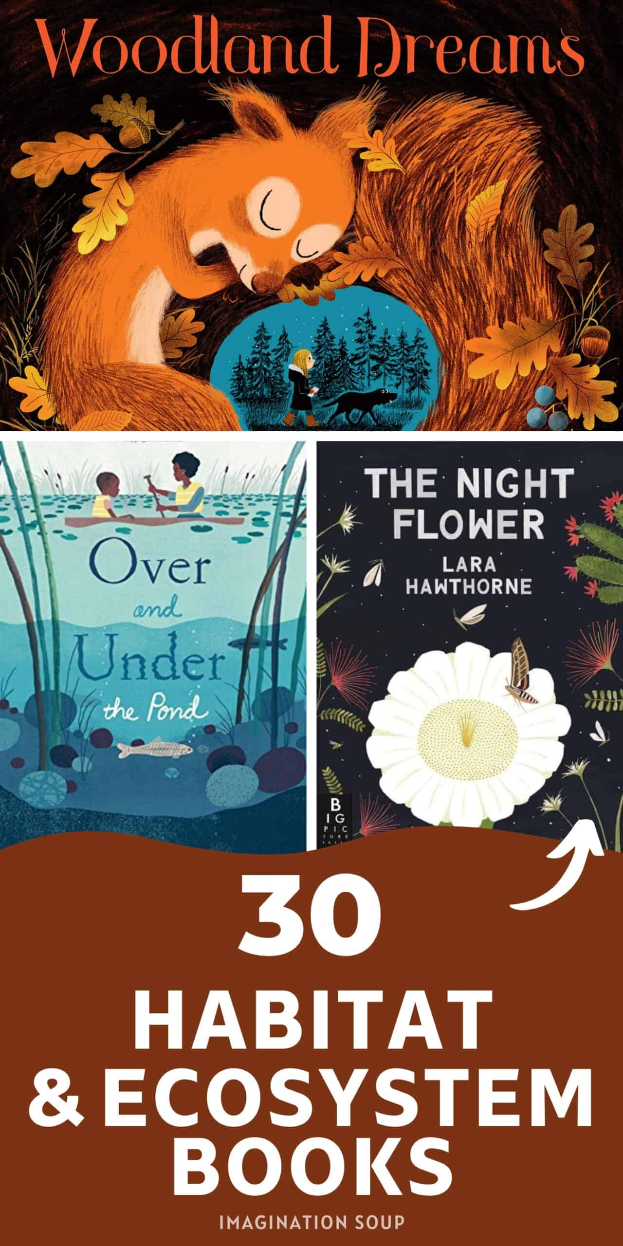 children's books about habitats and ecosystems