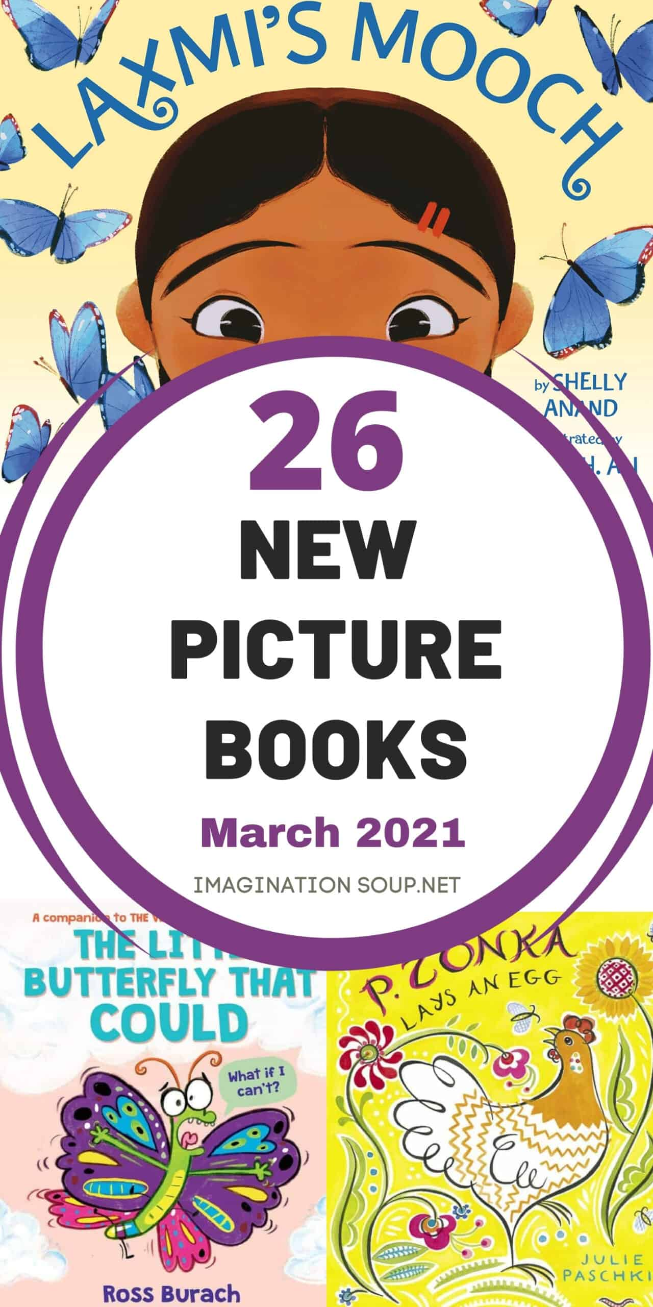 March 2021 Picture Books
