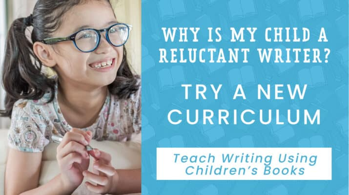 teach writing using children's books curriculum