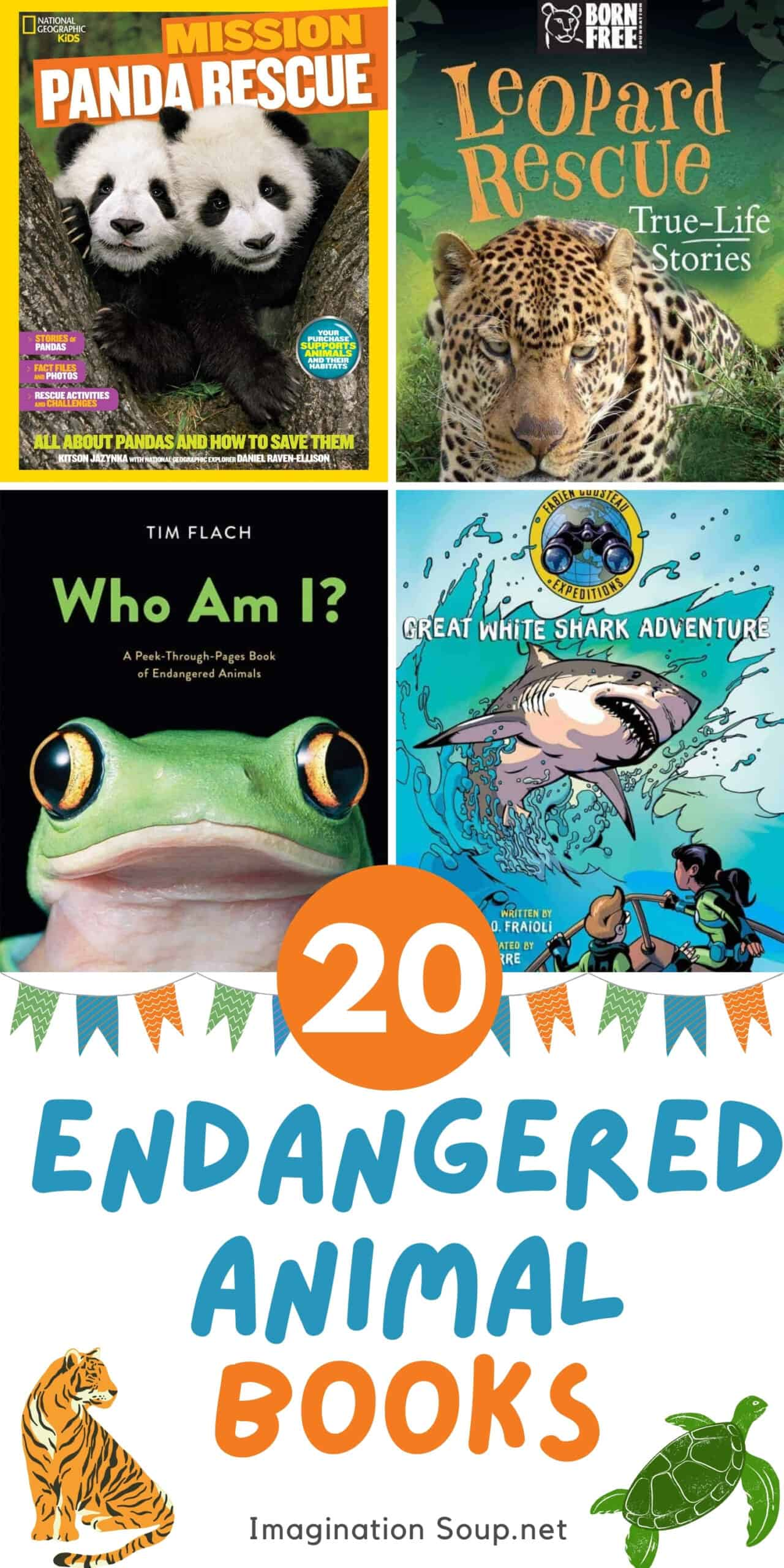 20 books about endangered animals