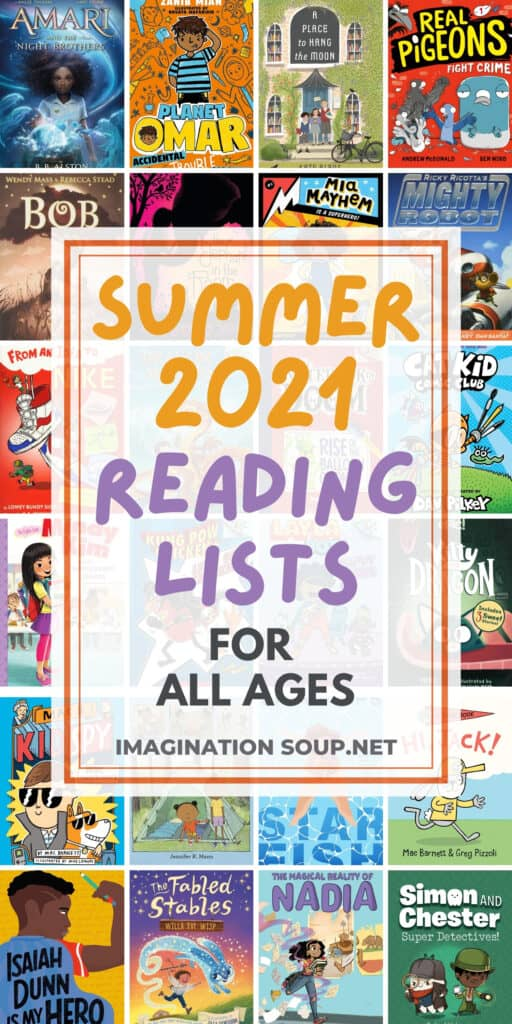 2021 Summer Reading Lists for Kids of All Ages