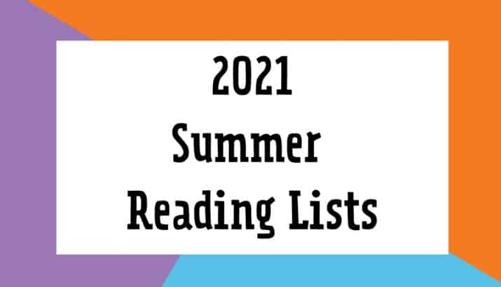 2021 Summer Reading Lists for Kids