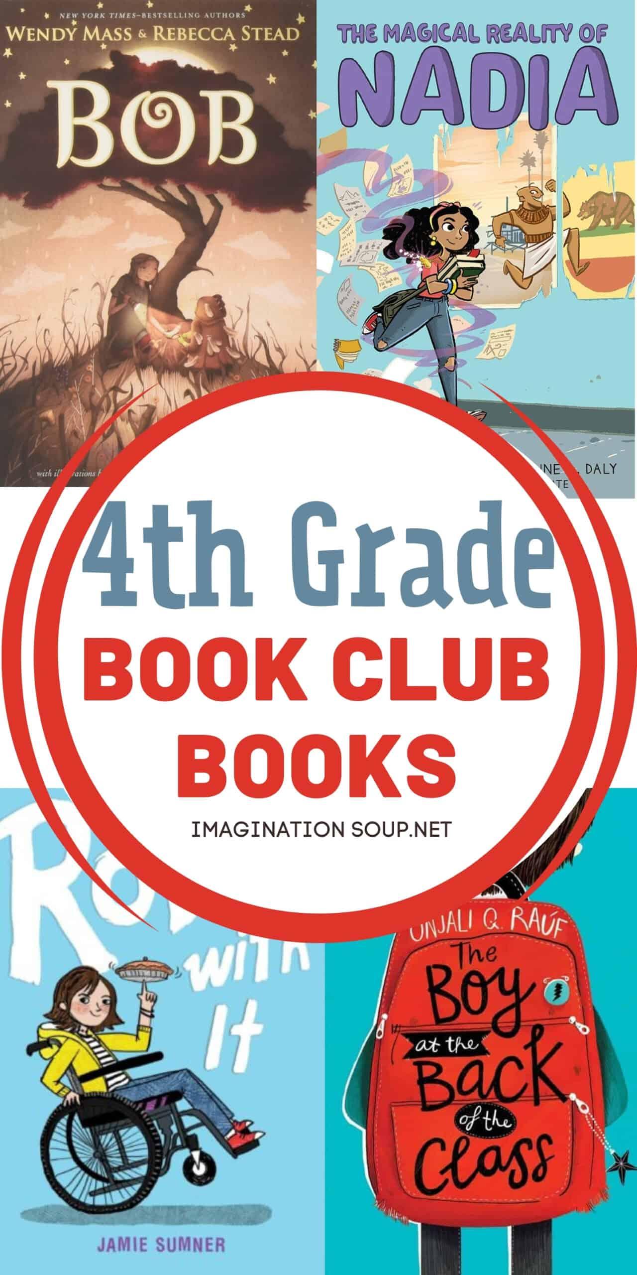 book club books for 4th grade