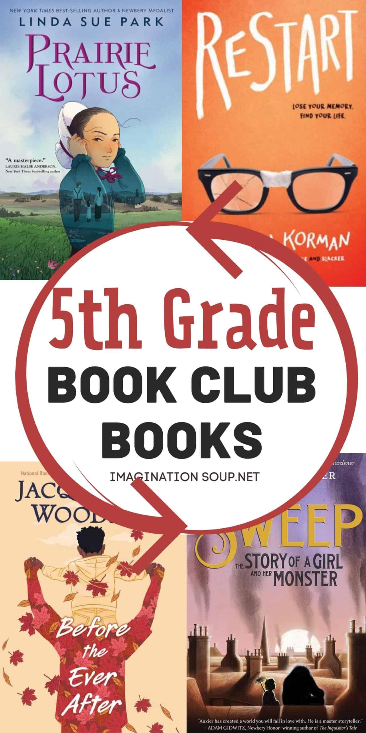 5th grade book club books
