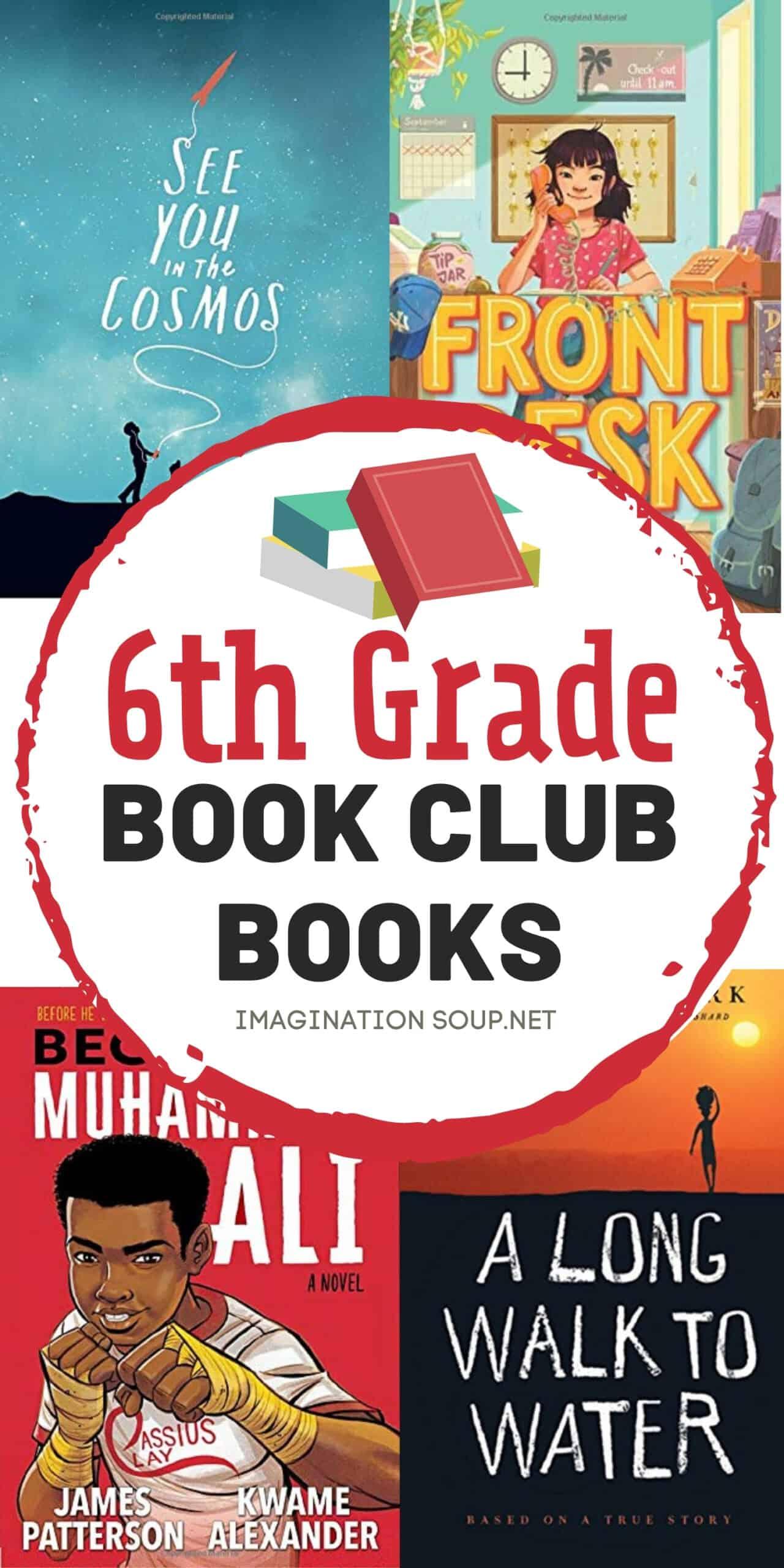 6th grade book club books