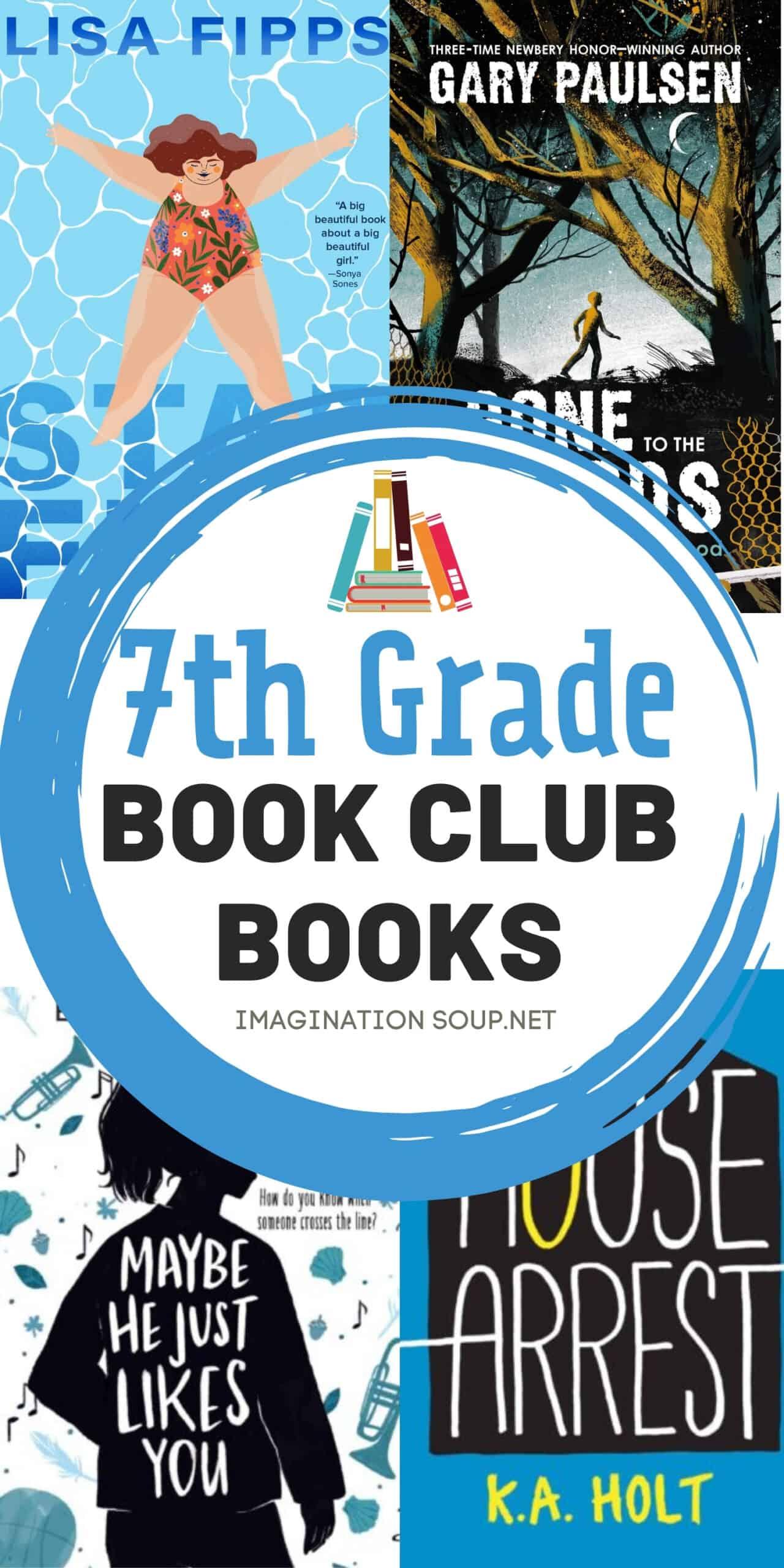 7th grade book club books