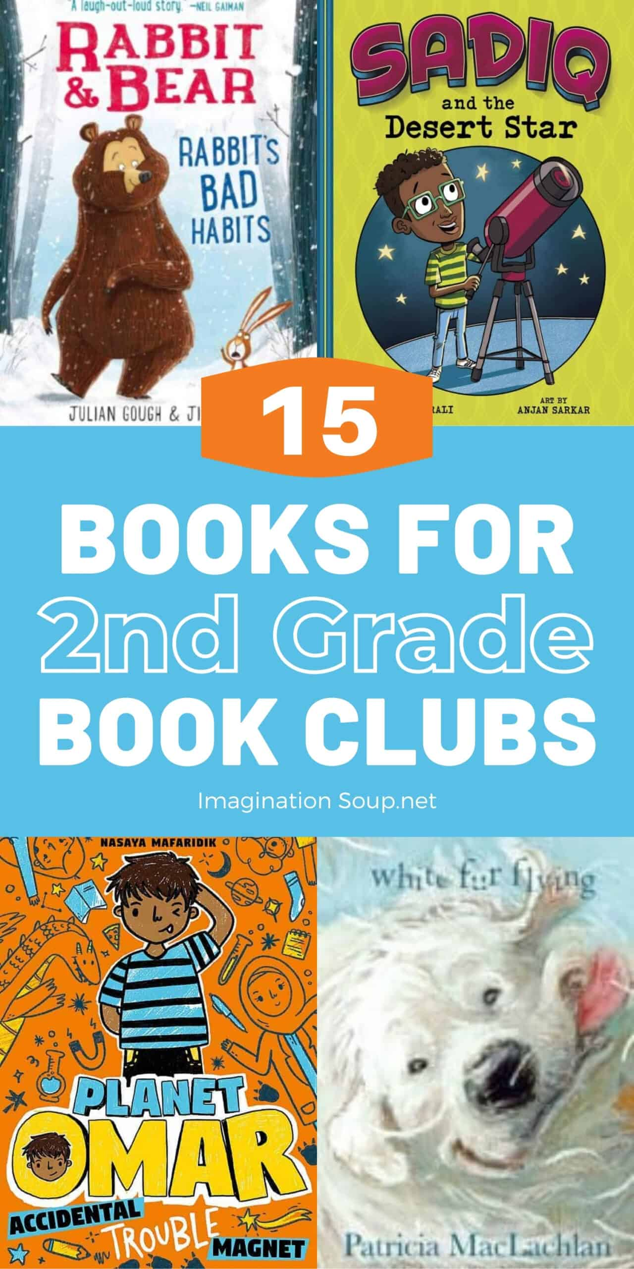Good Books for 2nd Grade Book Clubs