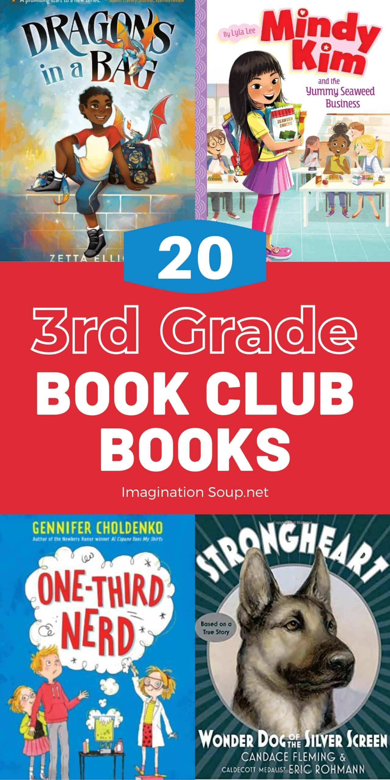 Good Books for 3rd Grade Book Clubs